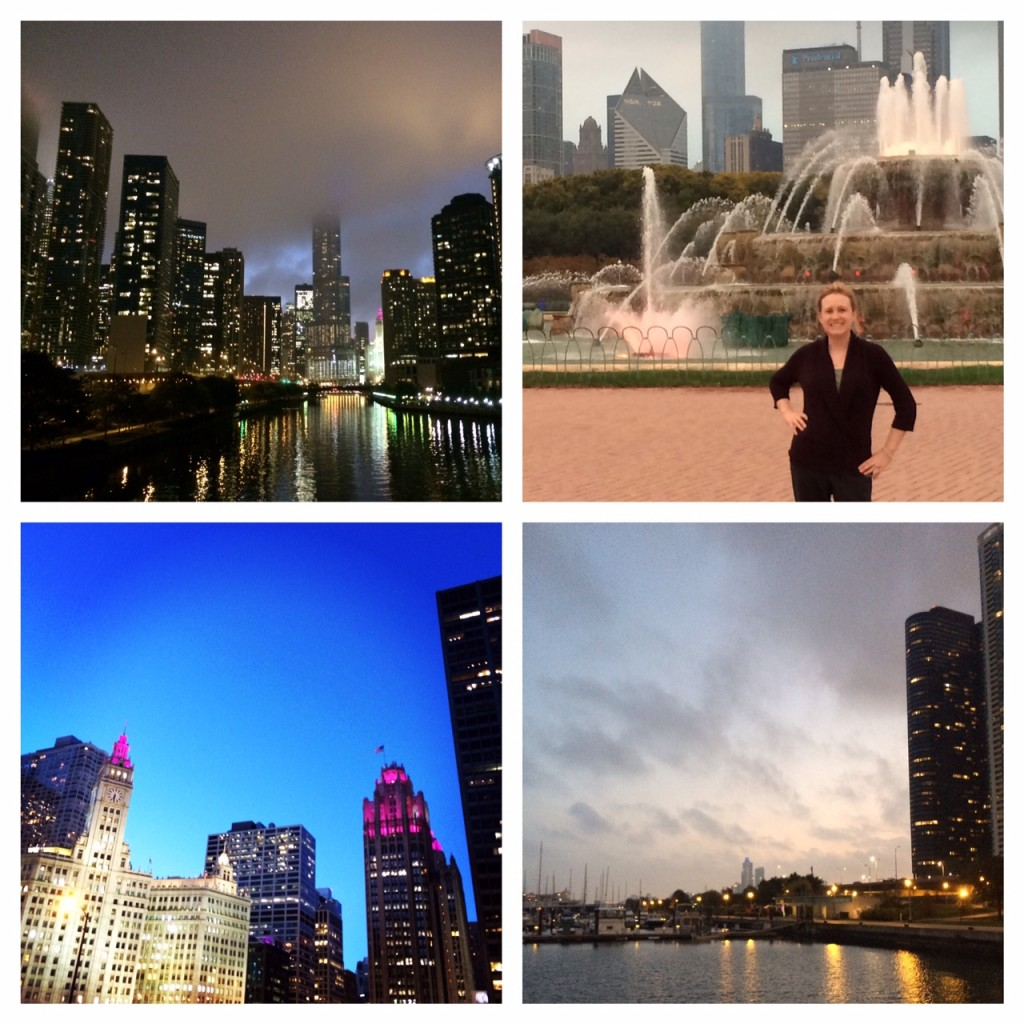 Photos from a recent business trip to Chicago