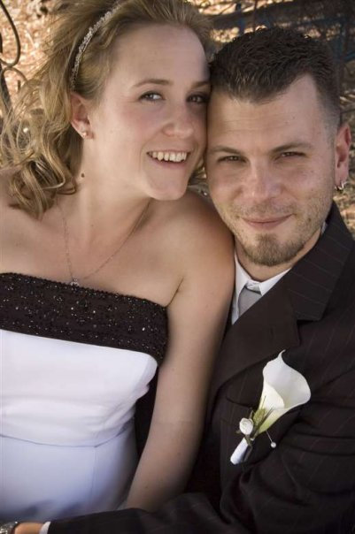 The young and happy couple. Almost 8 years ago.