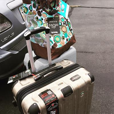 Our new suitcases!