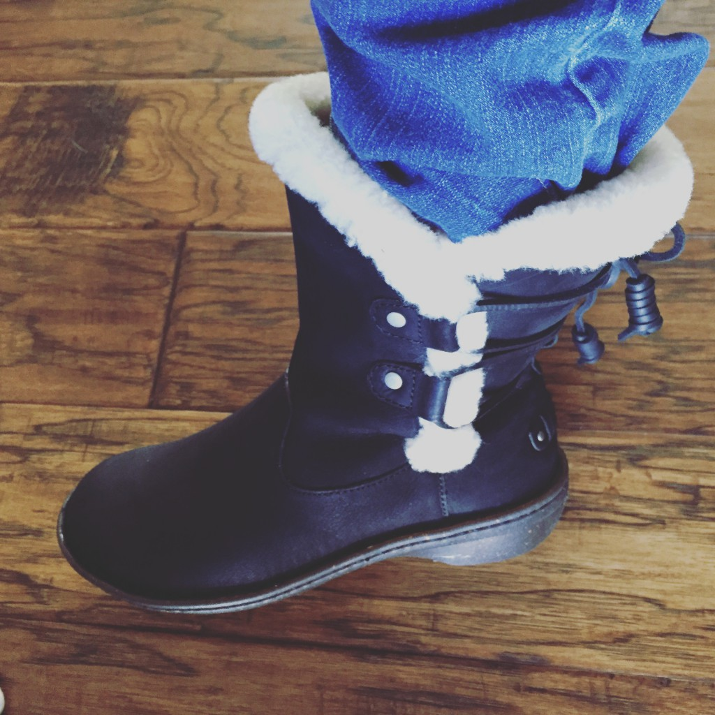 I have a shoe fairy. She is awesome - and sent me some very soft boots to protect my feet.